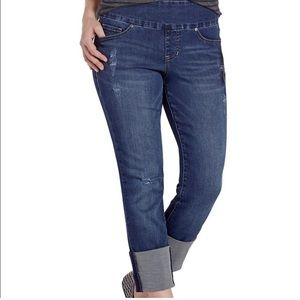JAG - High Rise Slim Ankle Jeans (16/33)